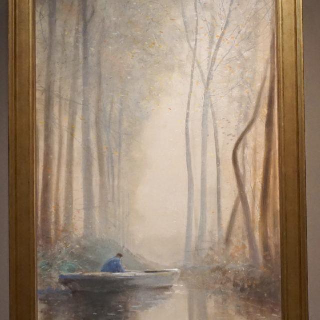 Aquarelle peinture tableau Maurice Hagemans paysage