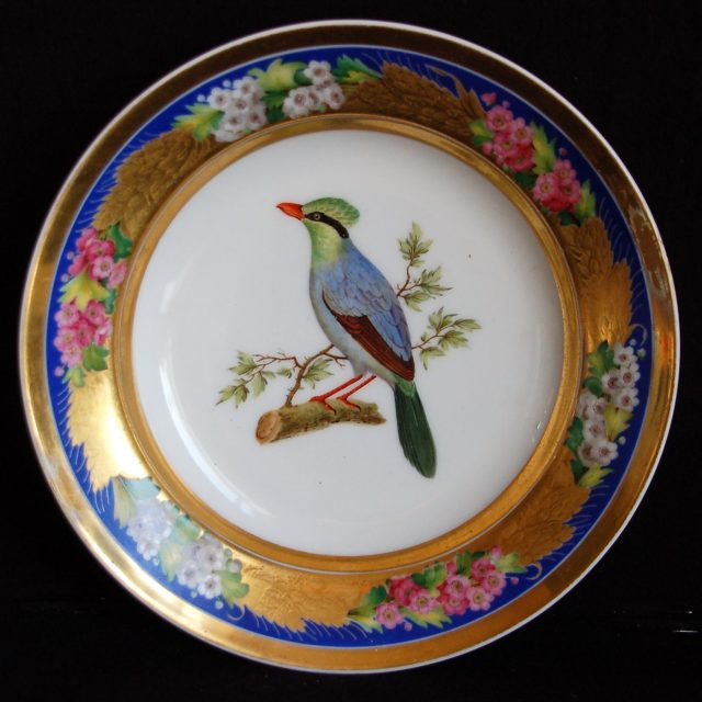 Assiette porcelaine Faber Buffon Palais Royal Guillaume d'Orange-6