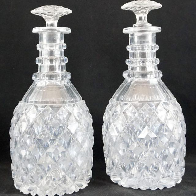 Carafe Vonêche cristal taillé empire Charles X